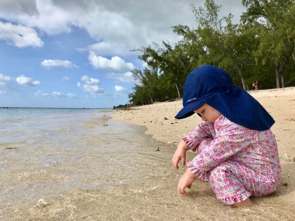 badkläder för barn med uv skydd