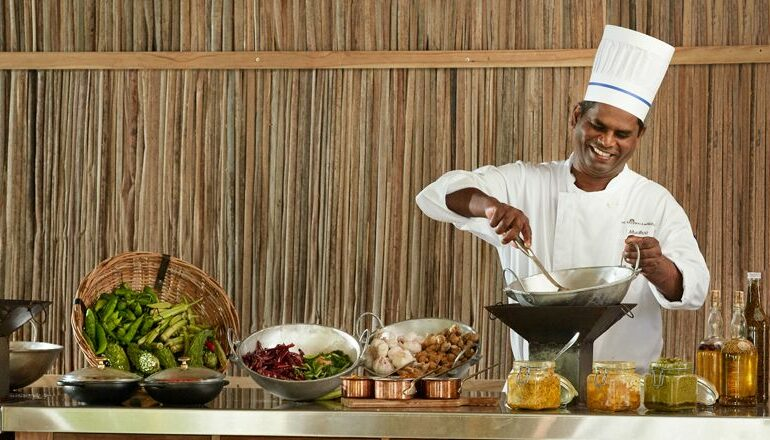 Children of the Mauritius chef Cooks Creole Food