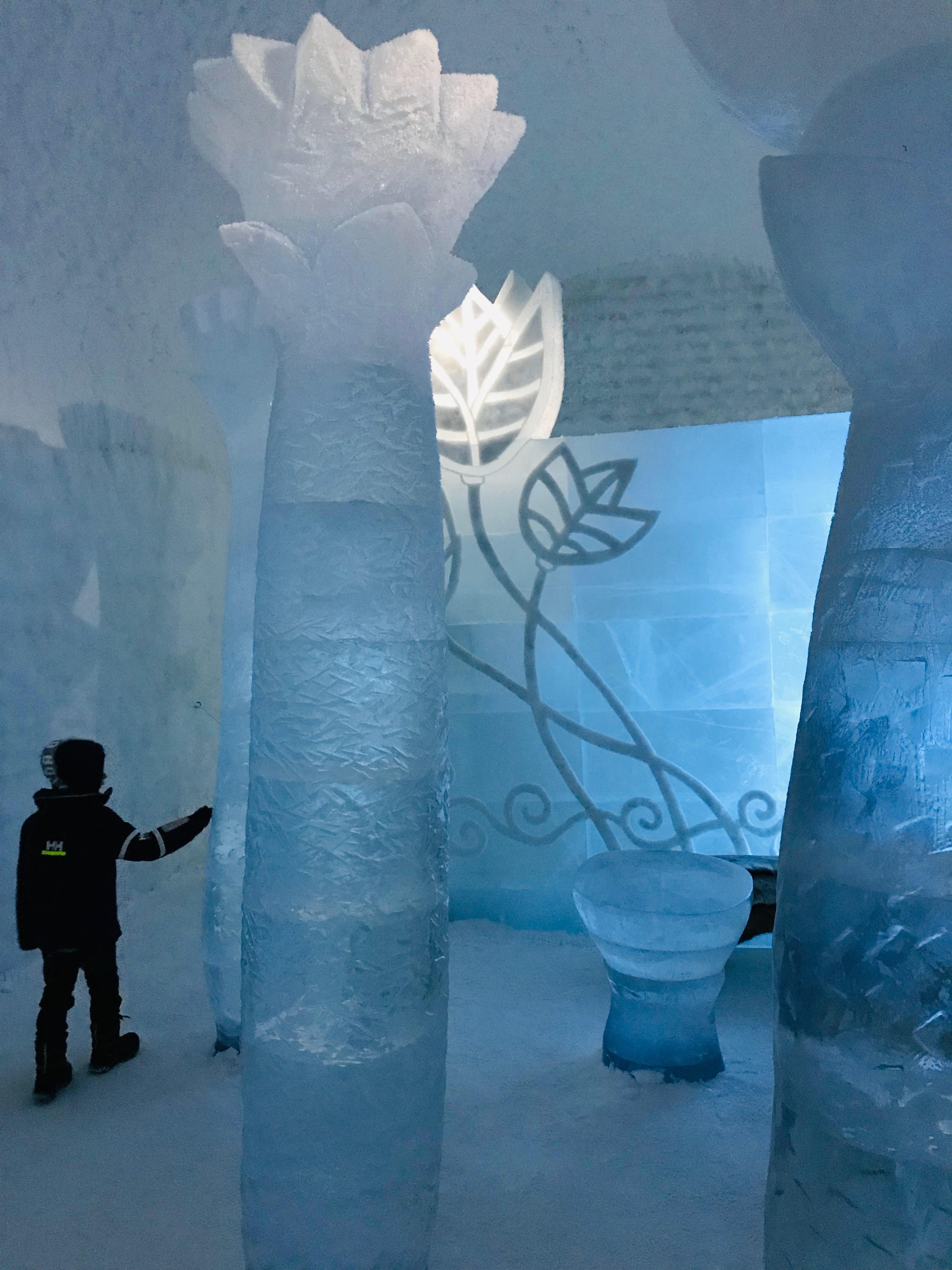 Deluxsvit icehotel