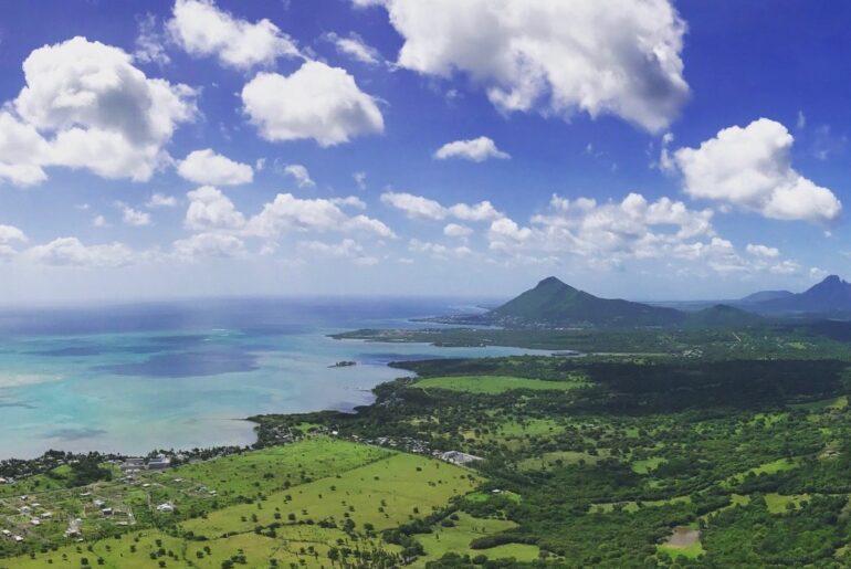 Mauritius with children