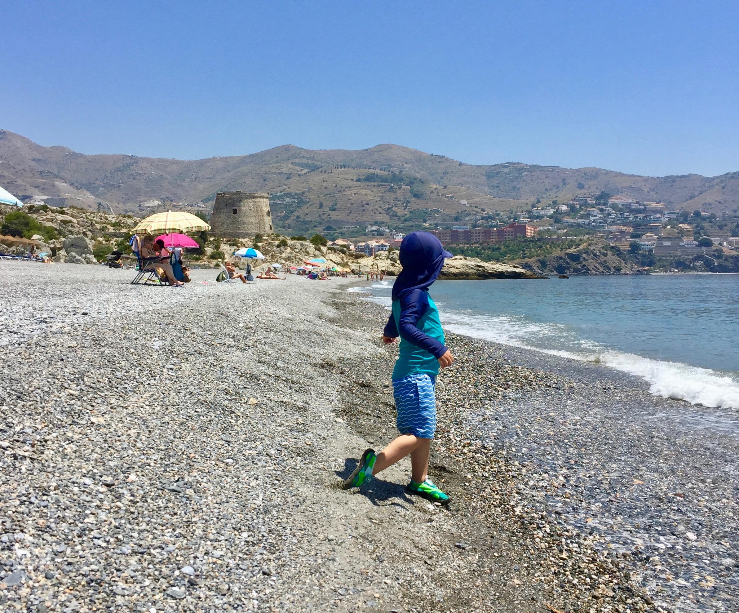 Beach in Almuñécar
