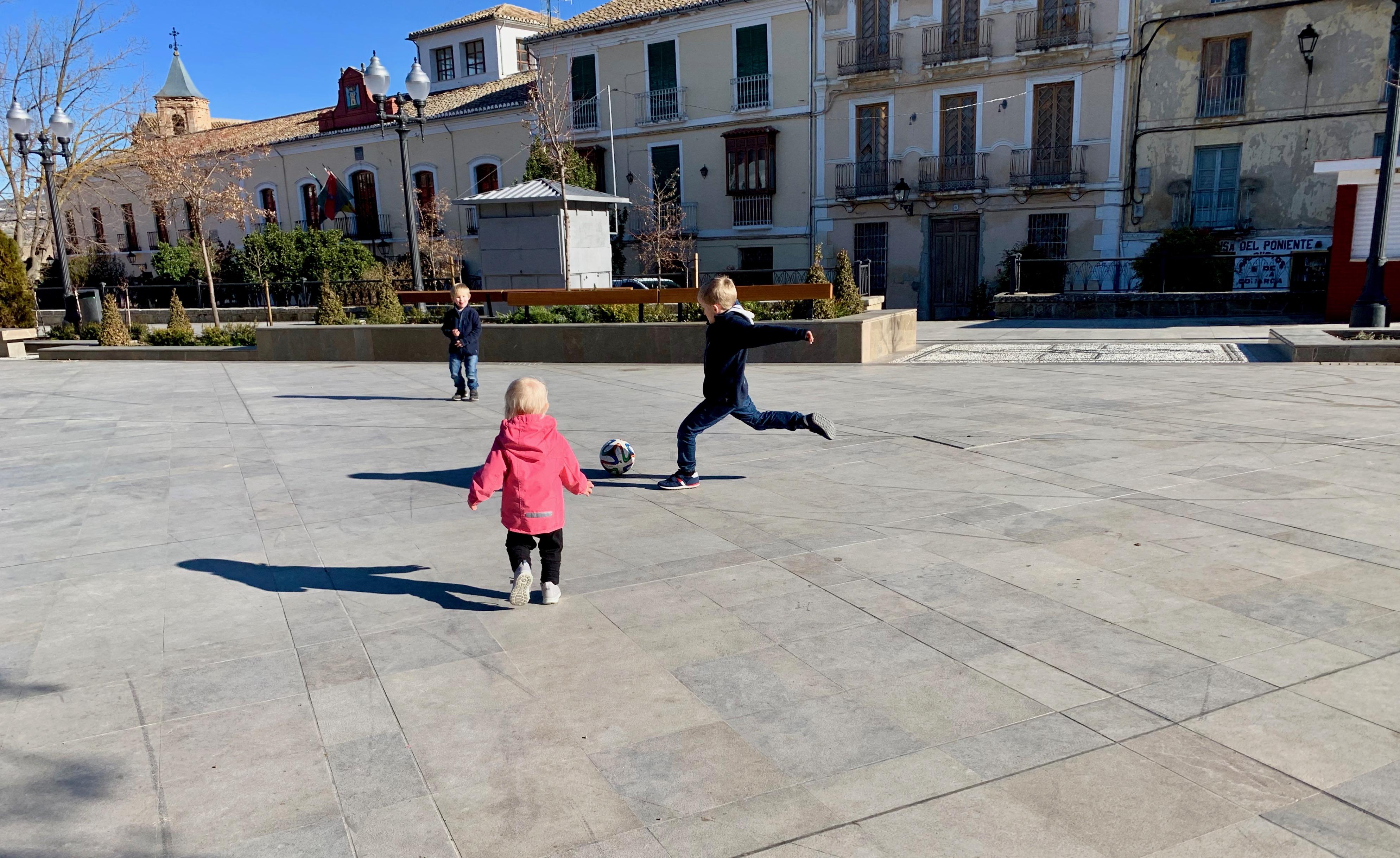 Alhama de Granada main square