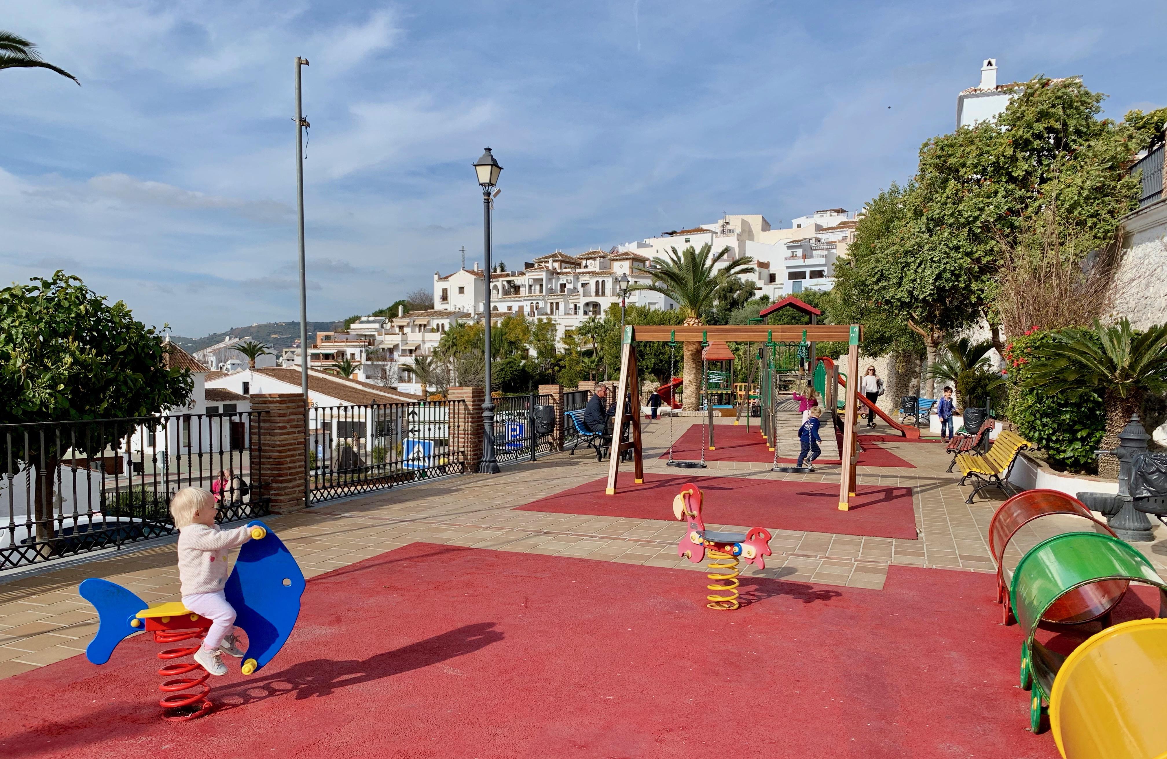 Playground in Frigiliana