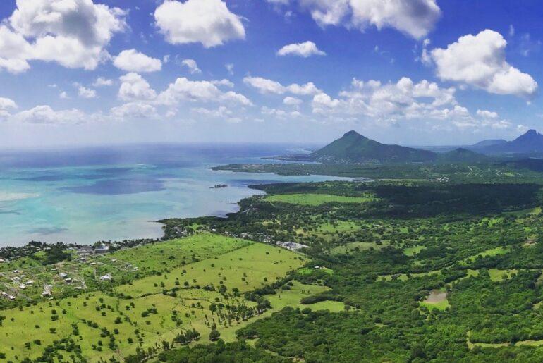 Mauritius med barn