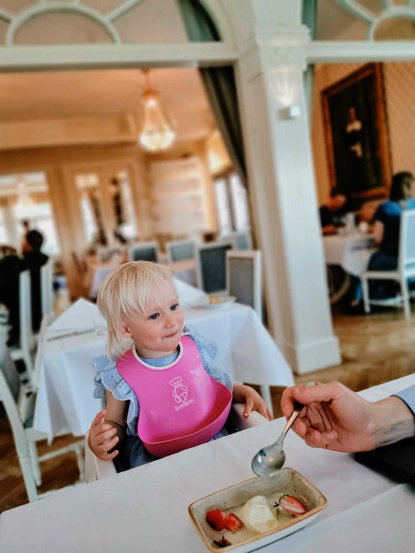 Barnmat på Villa Fridhem