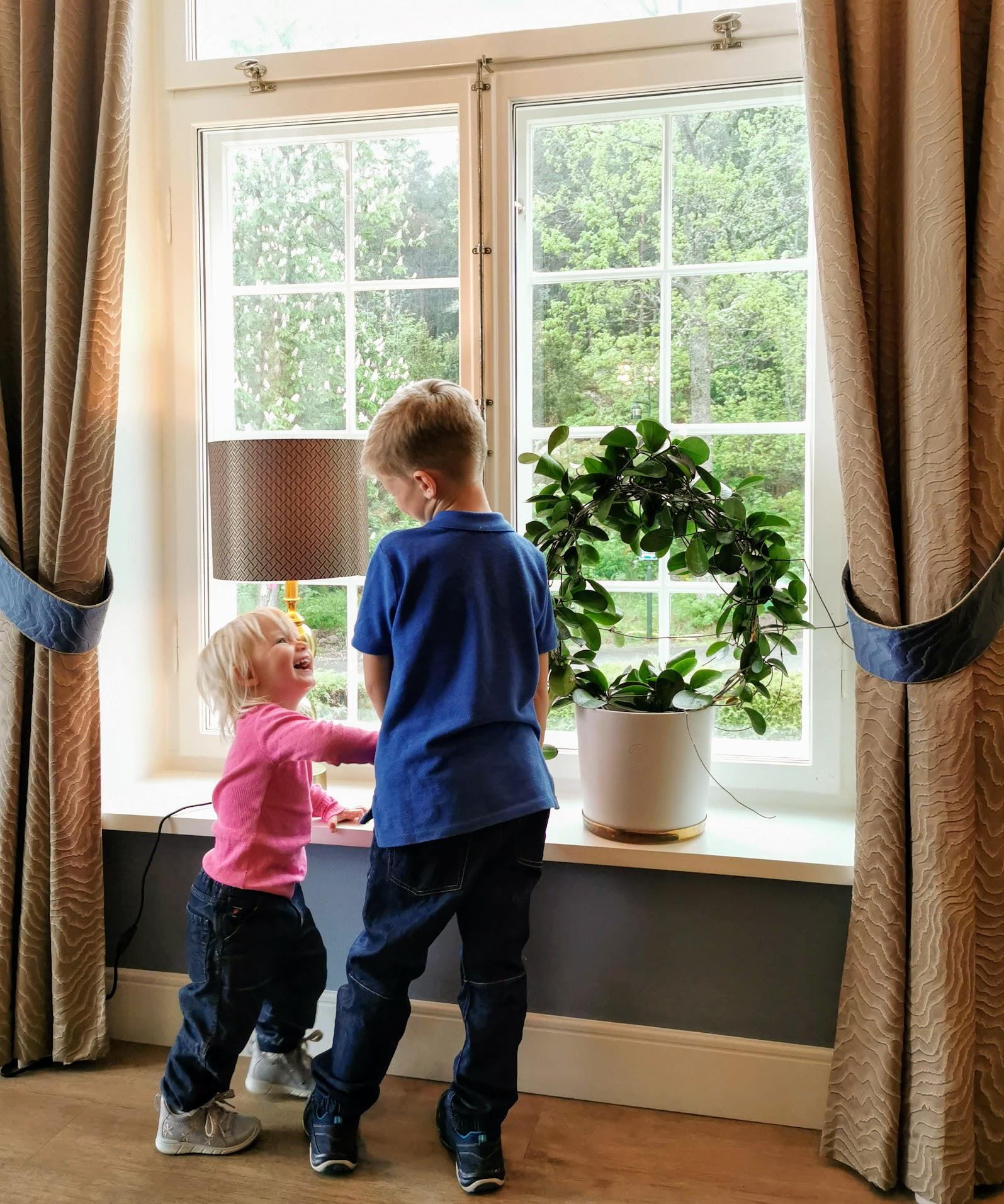 Barn på Villa Fridhem