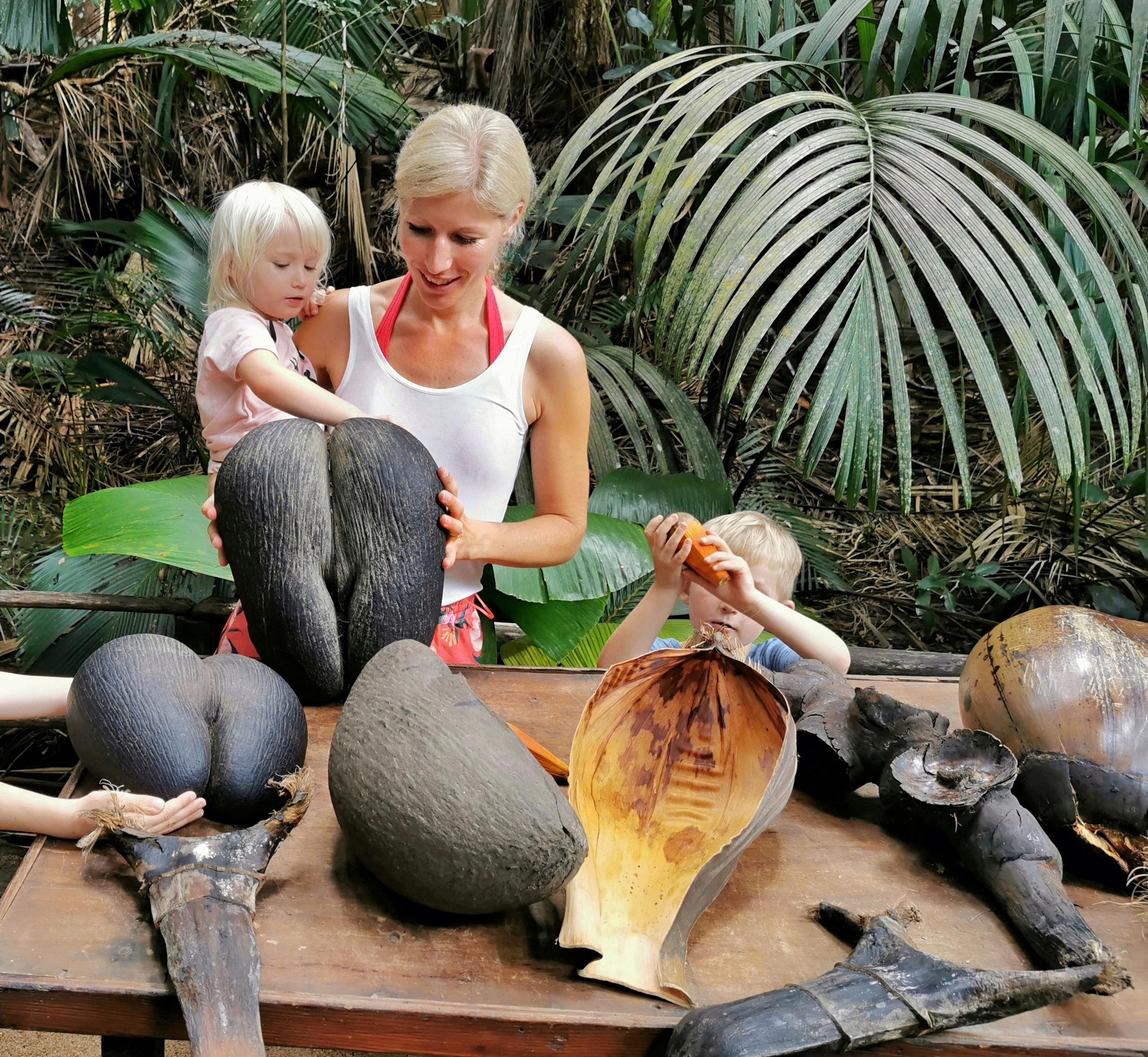 Seychellerna nationalpark med barn