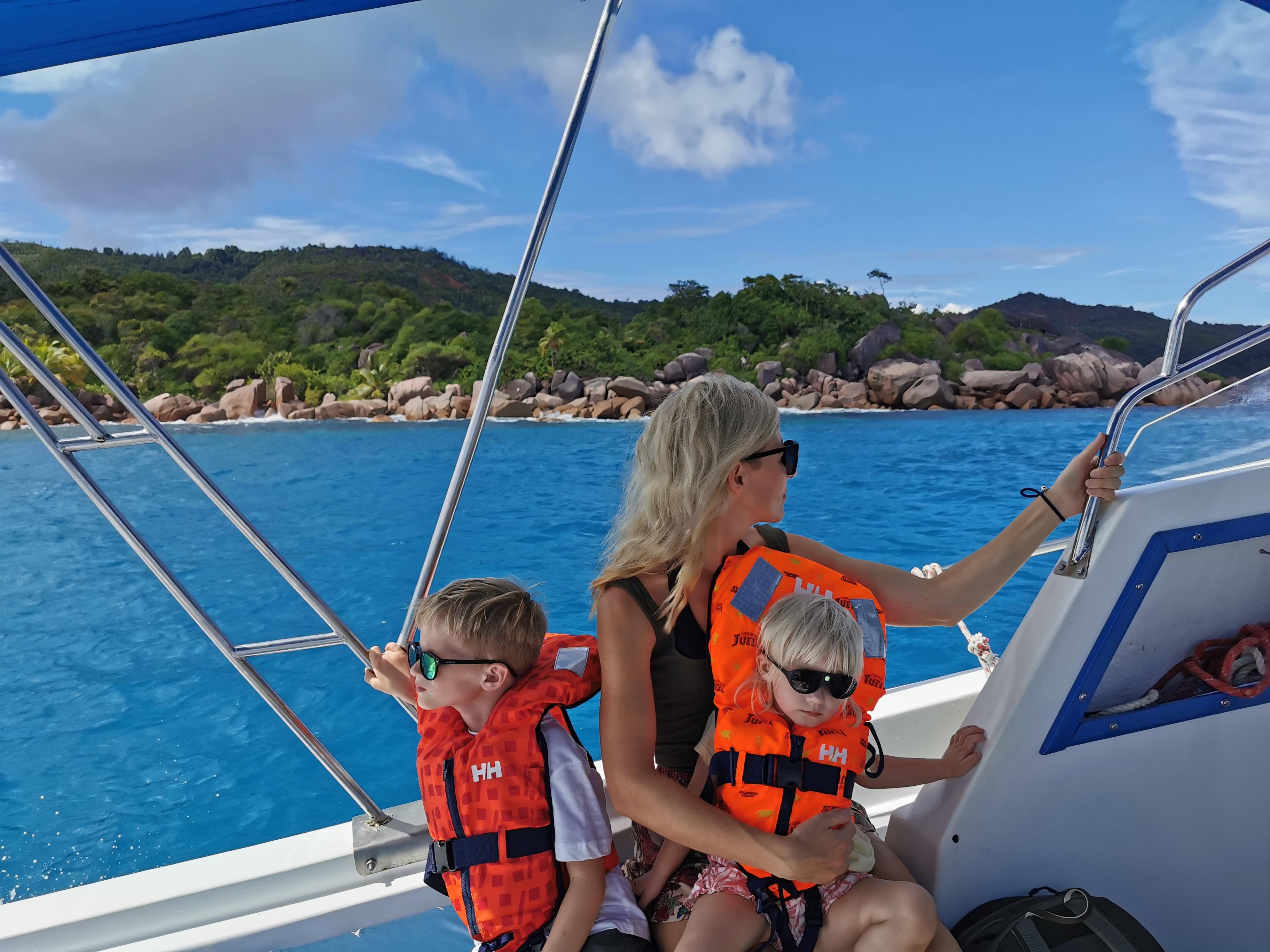 Seychellerna med barn