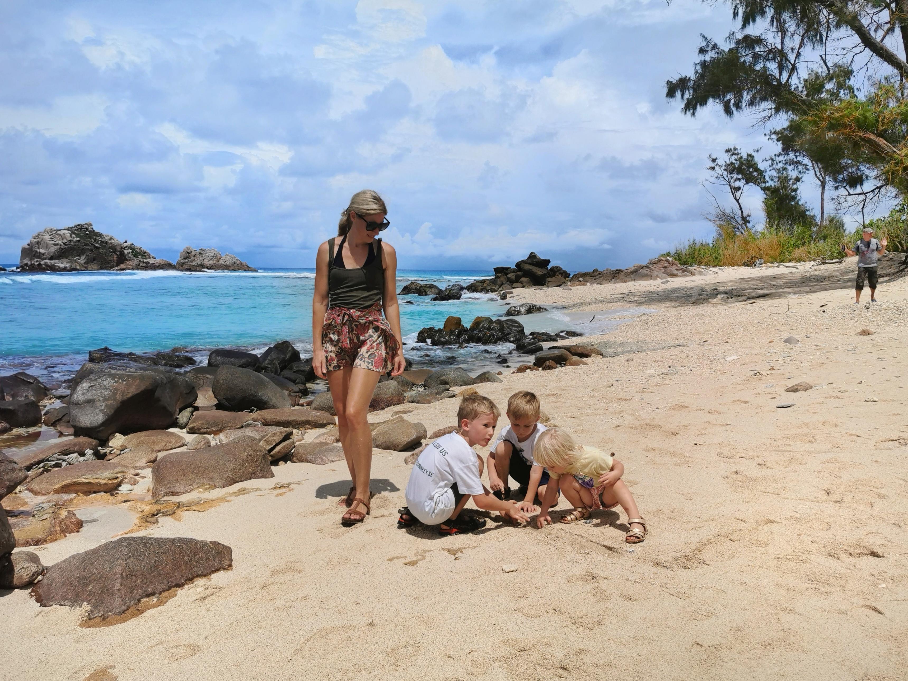 Cousin island Seychelles family vacation