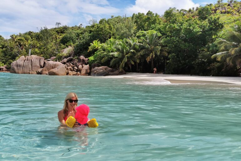 Family holiday in Praslin