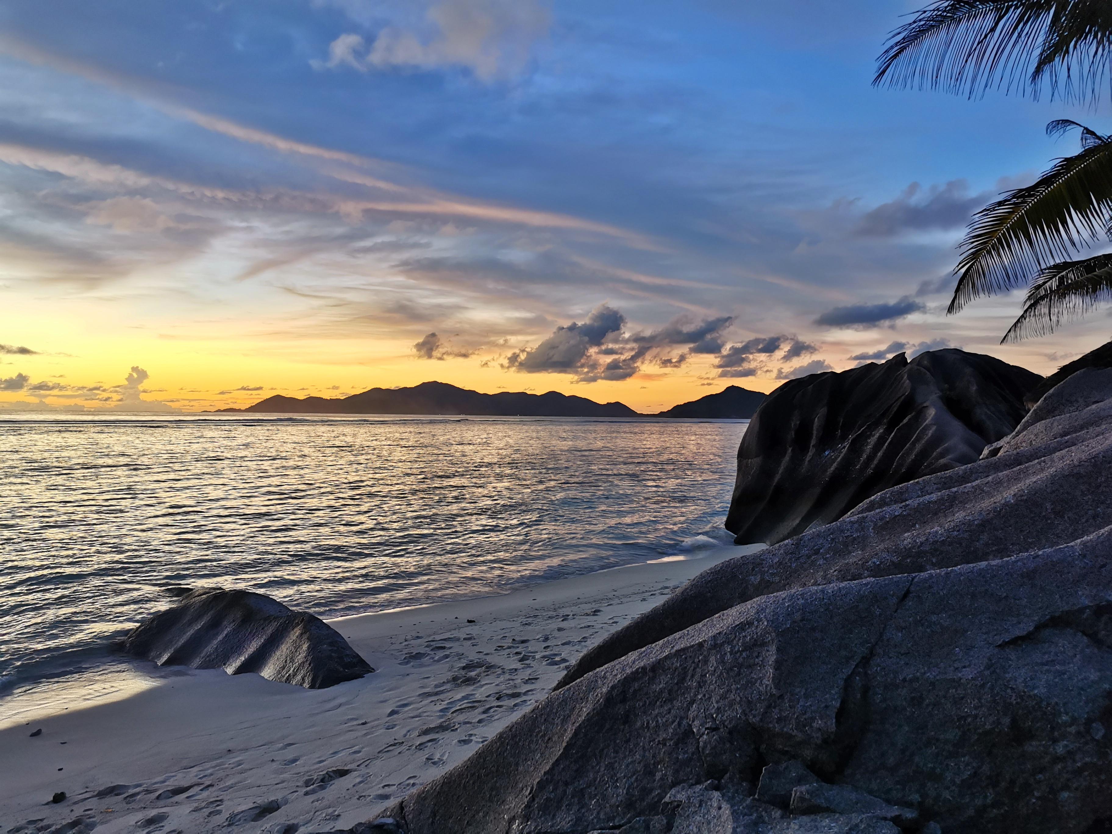 La Digue best sunset