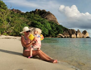 La Digue with kids
