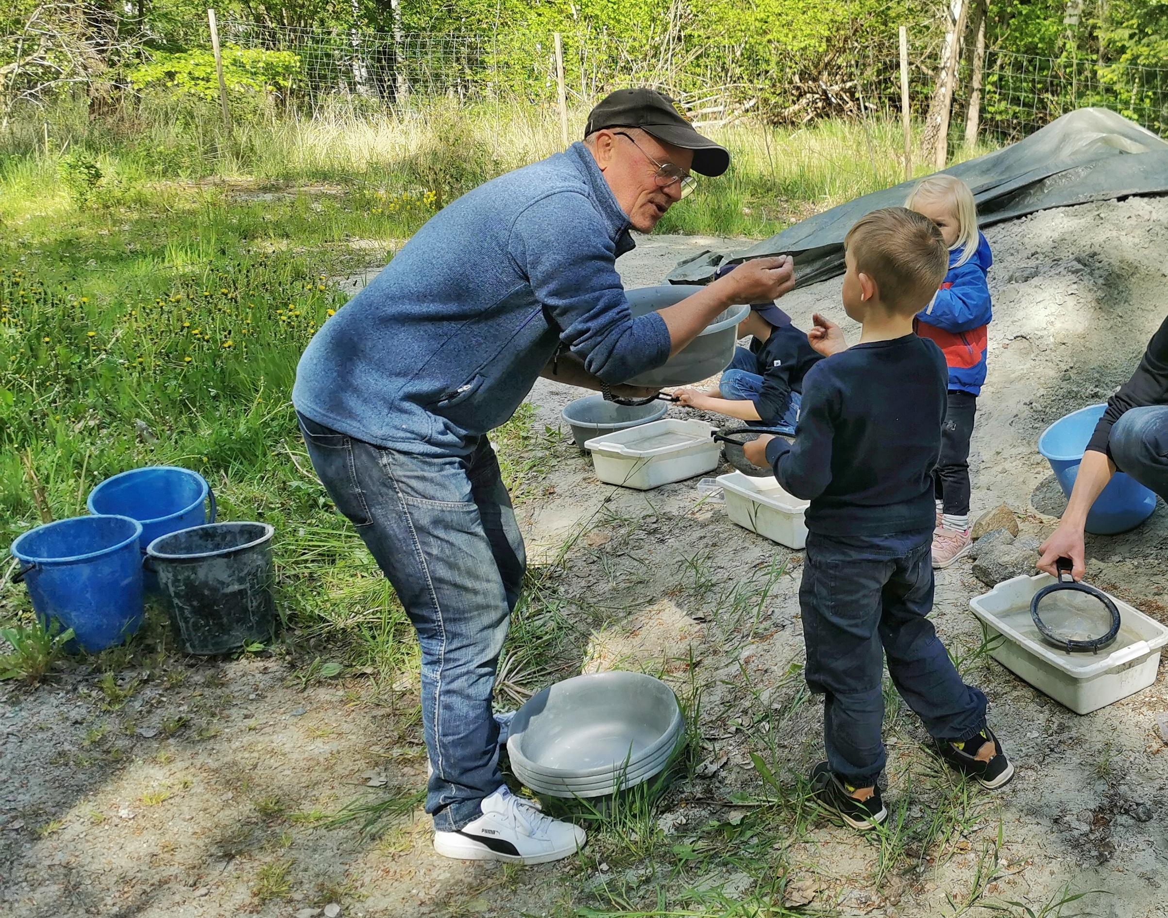 Leta fossiler i Sverige