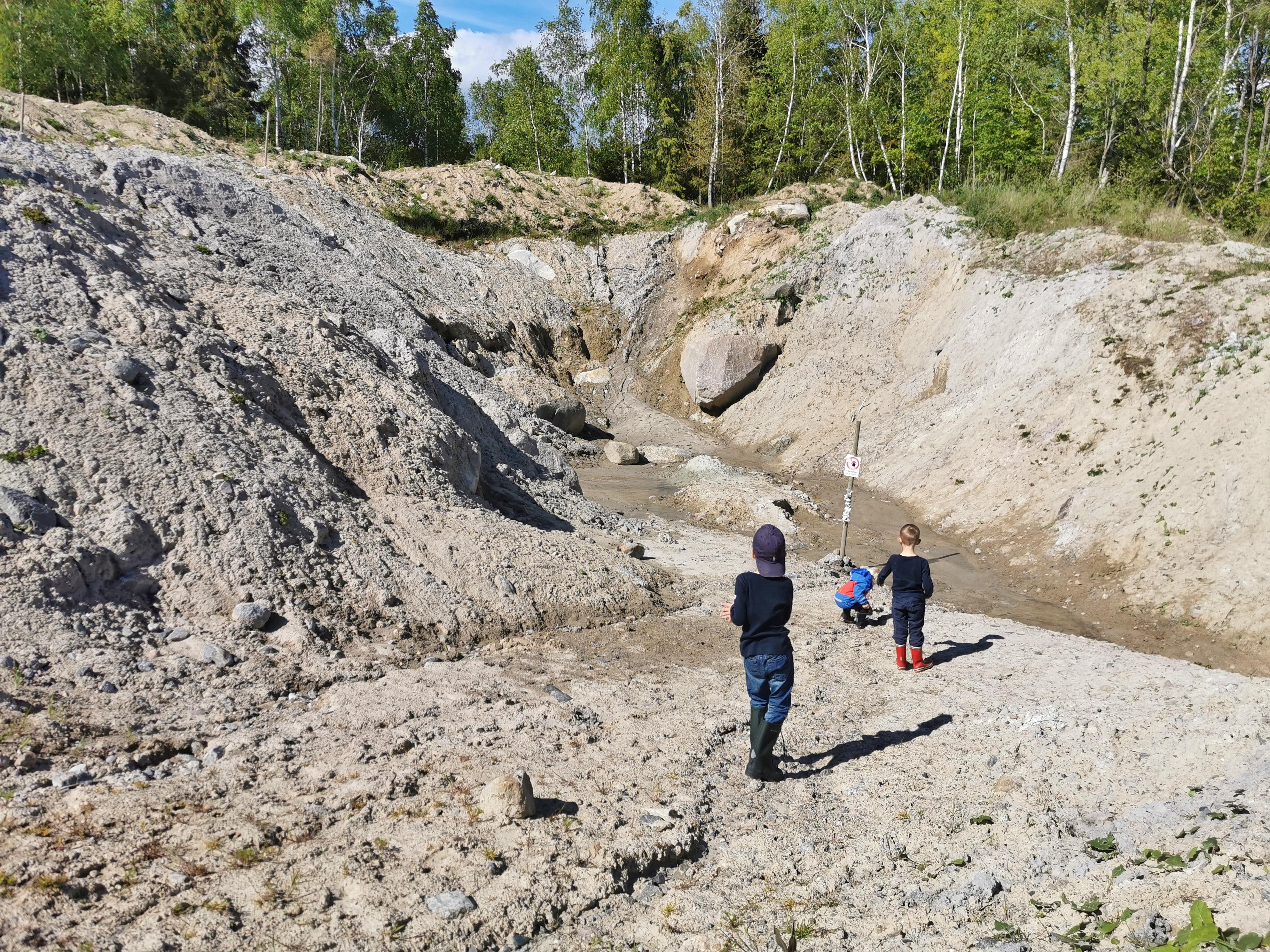 Fossiljakt i Sverige