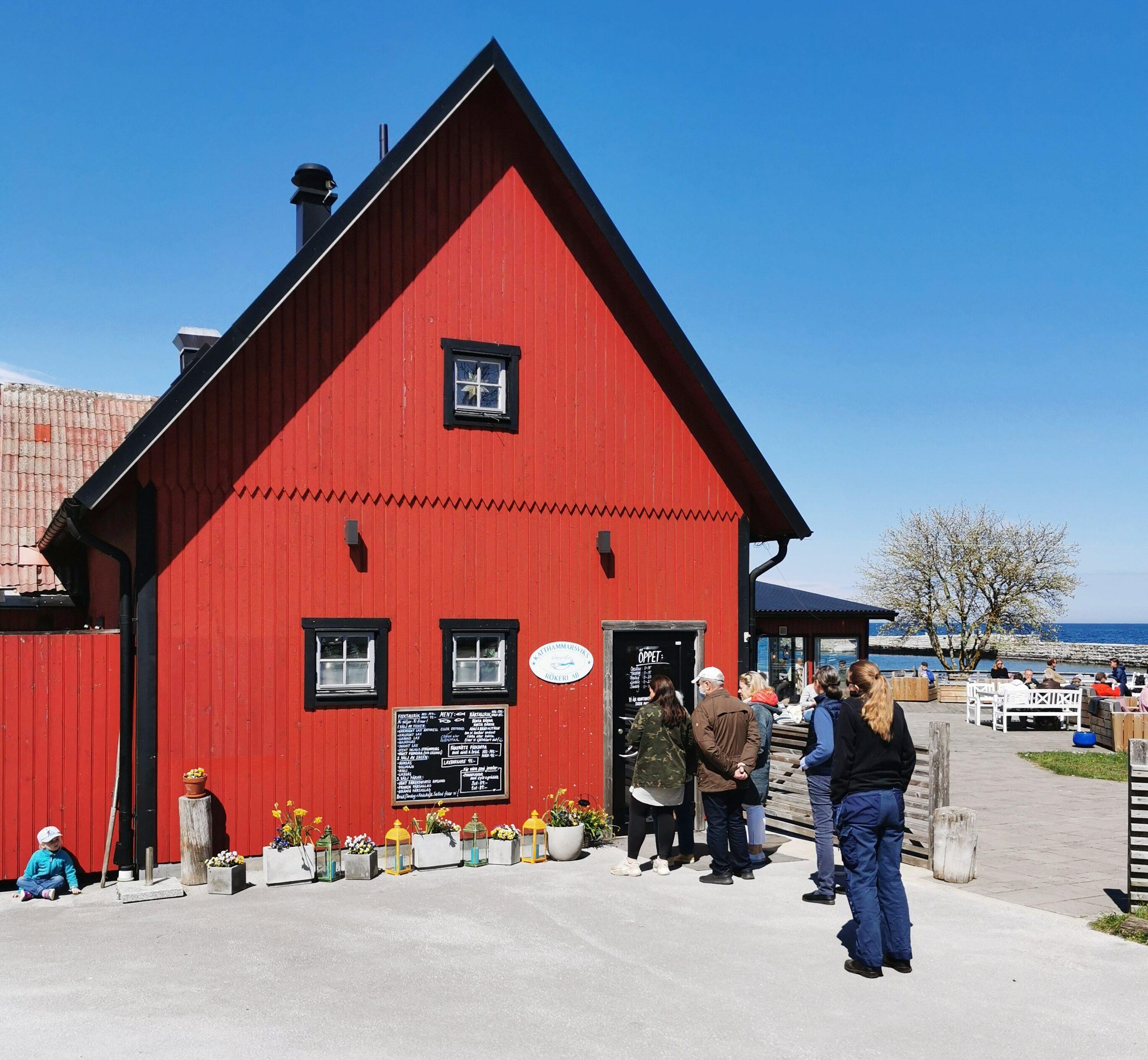 lunchställe Gotland