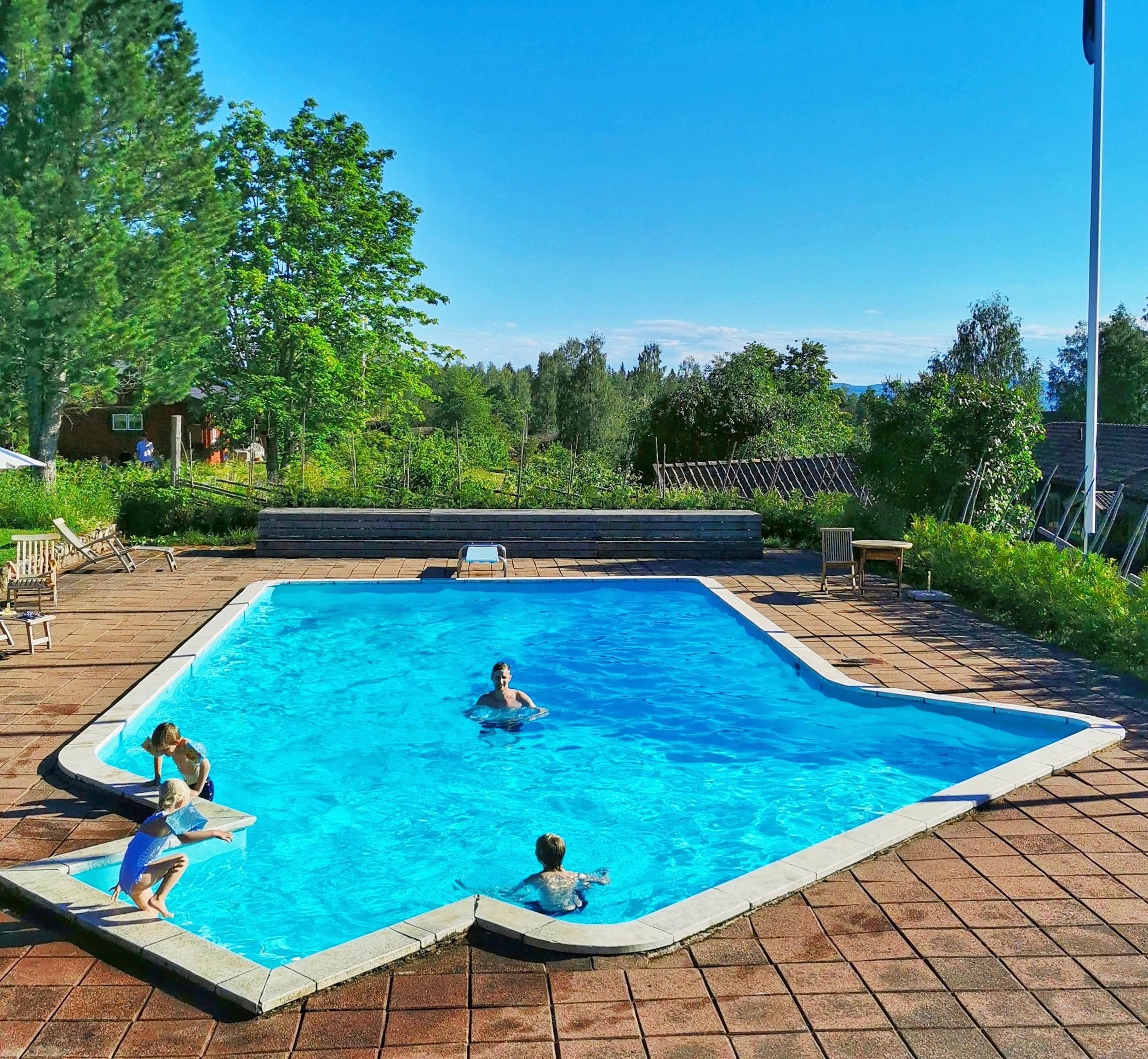 Familjevänligt hotell i Dalarna med pool