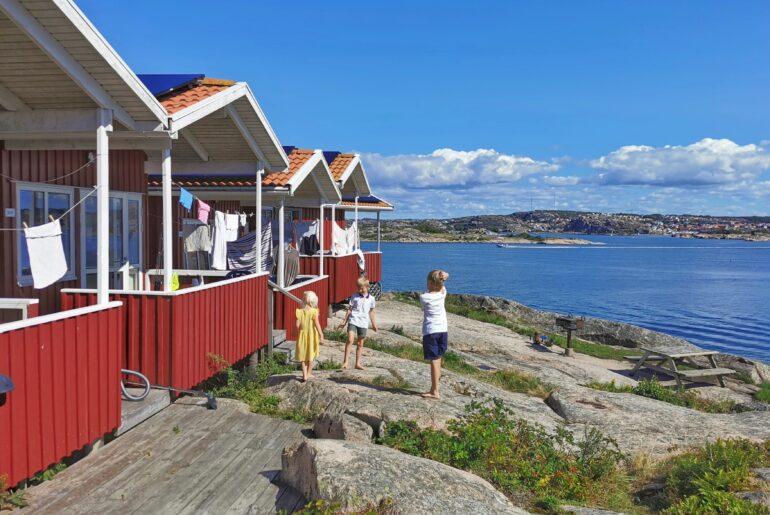 Ramsvik camping recension barn havsutsikt stuga