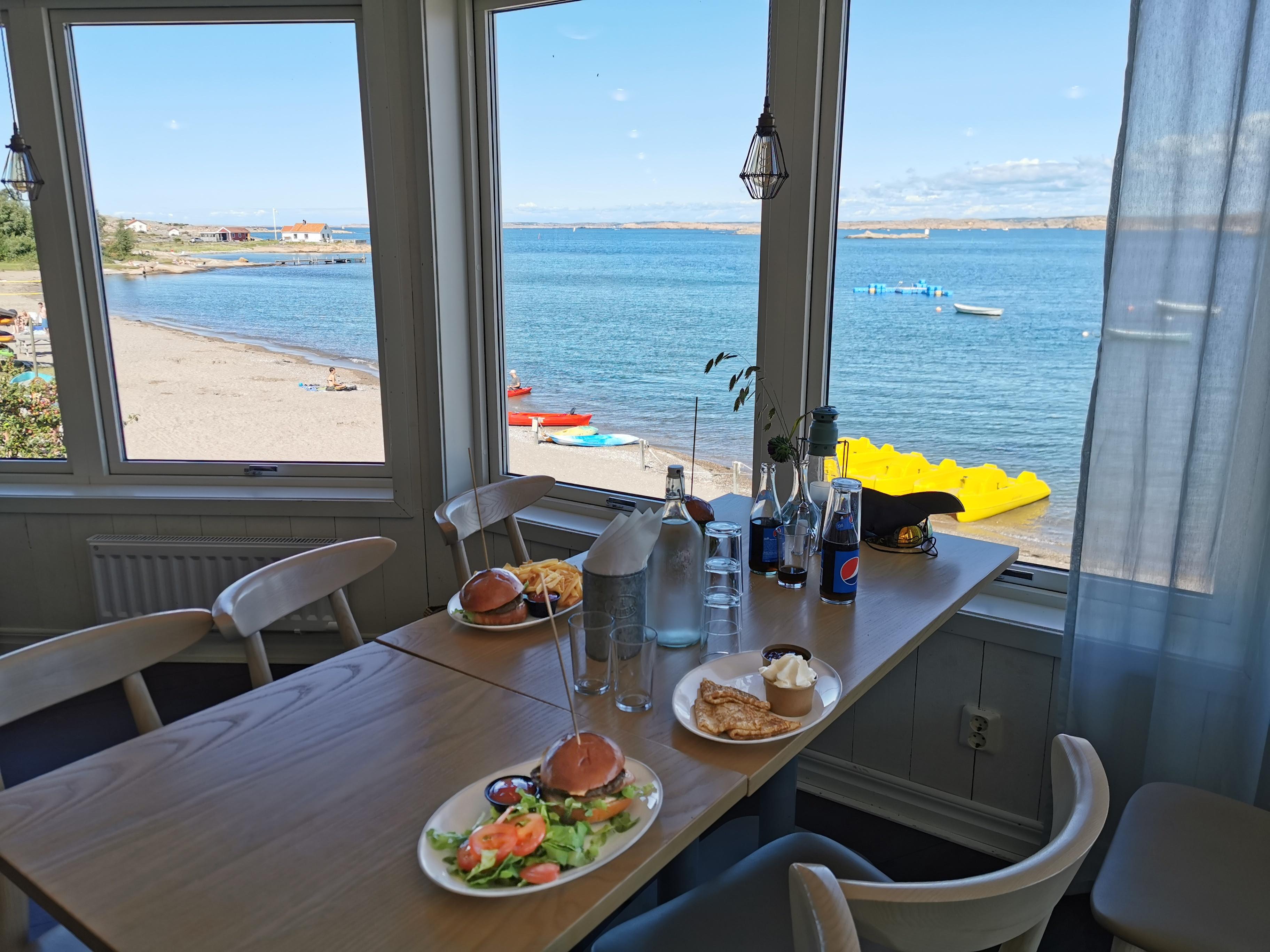 Ramsviks restaurang havsutsikt